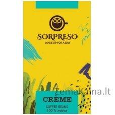 Kavos pupelės SORPRESO Creme 250 g