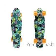 "22"" Mini riedlentė, Penny lenta, plastikas, ABEC-11 guoliai Fish Print Pineapple SO"
