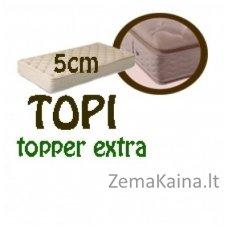 Antčiužinis TOPI topper extra 200*120*5