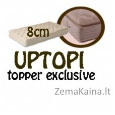 Antčiužinis UPTOPI topper exclusive 200*160*8