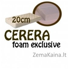 Čiužinys CERERA foam exclusive 200*140*20