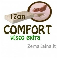 Čužinys COMFORT visco extra 200*180*17