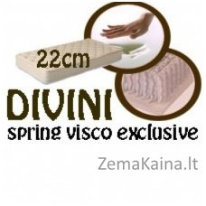 Čiužinys DIVINI spring visco exclusive 200*160*22