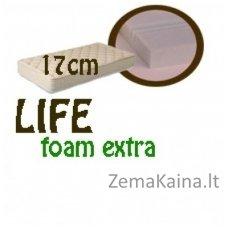 Čiužinys LIFE foam extra 200*140*17