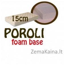 Čiužinys POROLI foam base 200*160*15