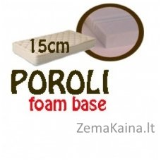 Čiužinys POROLI foam base 200*140*15