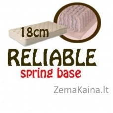 Čiužinys RELIABLE spring base 200*140*18