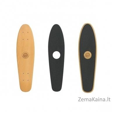 """23"""" Mini riedlentė, Penny lenta, kanados klevas, ABEC-11, Fish Wood Logo White 2"""