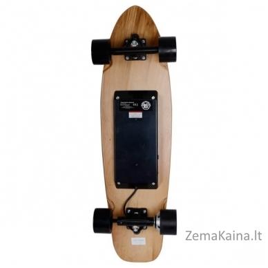 "36"" Elektrinė riedlentė / logbordas su valdymo pulteliu Skatey 350L Wood Art 3"