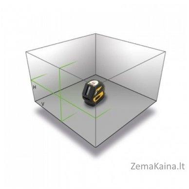 Kryžminis lazeris Nivel System CL-1G komplektas 3
