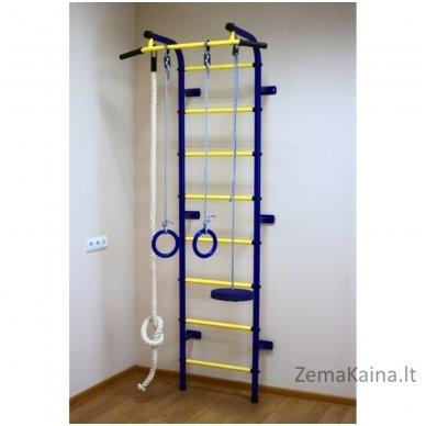 Vaikiškos (švediškos) laipiojimo kopetėlės PIONER-C1P (Blue/Yellow) 2