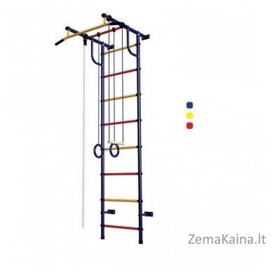 Vaikiškos (švediškos)  laipiojimo kopetėlės Pioner-C2P Blue/Yellow