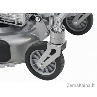 Benzininė savaeigė vejapjovė 2,9kW Grizzly BRM 56-196 A-OHV Q-360° Premium + Alyva dovanų 3