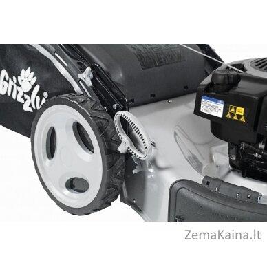 Benzininė savaeigė vejapjovė 2,9kW Grizzly BRM 56-196 A-OHV Q-360° Premium + Alyva dovanų 5