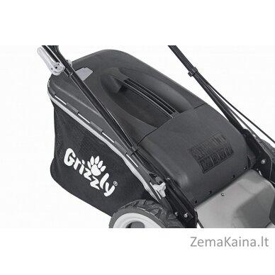 Benzininė savaeigė vejapjovė 2,9kW Grizzly BRM 56-196 A-OHV Q-360° Premium + Alyva dovanų 2