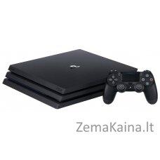 SONY PlayStation 4 Pro (PS4 Pro) 1TB A  Black + žaidimas