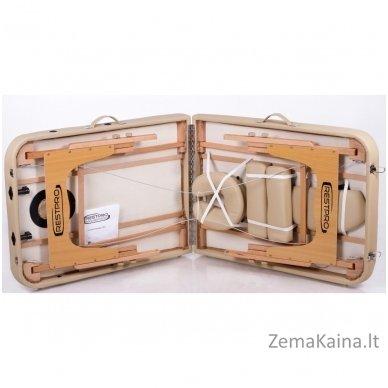 Sulankstomas masažo stalas Restpro Memory 3/Beige 3