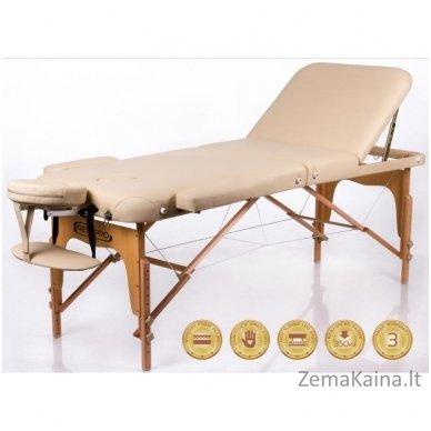 Sulankstomas masažo stalas Restpro Memory 3/Beige