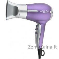 Adler AD 2218 Sidabras, Violetinė 1500 W