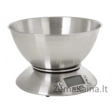 Adler AD 3134 Elektroninės virtuvinės svarstyklės Nerūdijančiojo plieno Turas
