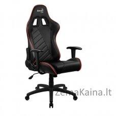 Aerocool AC110 AIR Universali kompiuterinių žaidimų kėdė Paminkštinta sėdynė Juoda, Raudona