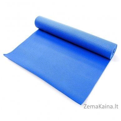 Aerobikos kilimėlis Meteor 180x60x0,5cm Yoga Mėlynas 4