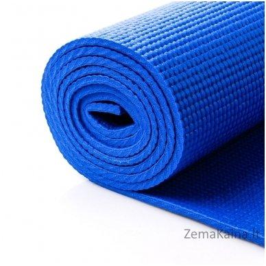 Aerobikos kilimėlis Meteor 180x60x0,5cm Yoga Mėlynas 2
