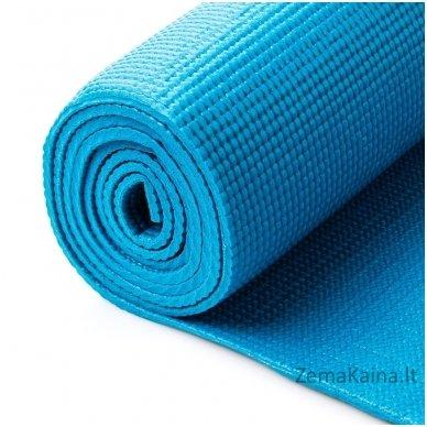 Aerobikos kilimėlis Meteor 180x60x0.5cm Yoga turkio spalvos 4