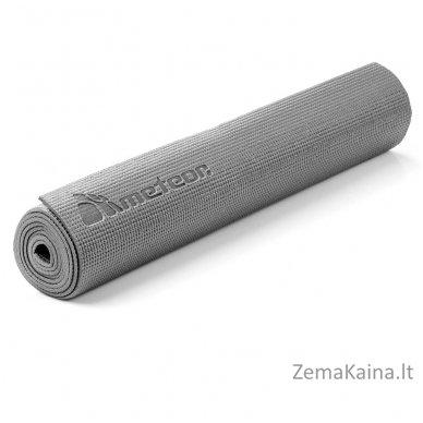 Aerobikos kilimėlis Meteor 180x60x0.5cm Yoga pilkas