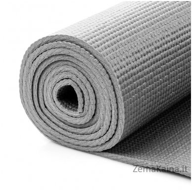 Aerobikos kilimėlis Meteor 180x60x0.5cm Yoga pilkas 2