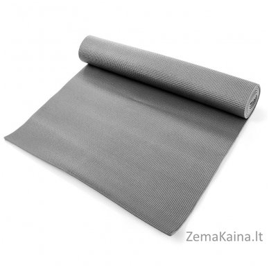Aerobikos kilimėlis Meteor 180x60x0.5cm Yoga pilkas 3