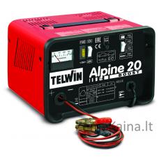 Akumuliatoriaus įkroviklis TELWIN ALPINE 20 BOOST 230V 50/60HZ 12-24V
