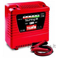 Akumuliatoriaus pakrovėjas TELWIN TOURING 18 230V 12V/24V