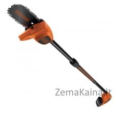 Akumuliatorinė aukštapjovė GPC1820L20 18 V 2.0 Ah 20 cm, Black+Decker
