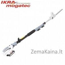 Akumuliatorinė aukštapjovė gyvatvorėms 20V 2Ah Ikra Mogatec ICPH 2040