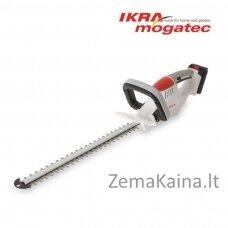 Akumuliatorinės gyvatvorių žirklės 20V 2Ah Ikra Mogatec IAHS 20-1