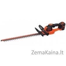 Akumuliatorinės gyvatvorių žirklės GTC36552PC 36V 2Ah 55 cm, Black+Decker
