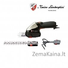 Akumuliatorinės žolės ir gyvatvorių žirklės Tonino Lamborghini GBK 6100 Li TL