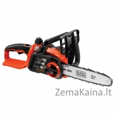 Akumuliatorinis grandininis pjūklas GKC1825L20 18V 2Ah 25 cm, Black+Decker