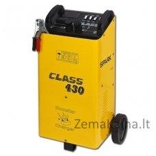 Akumuliatorių įkroviklis ir paleidėjas STROM CLASS-430