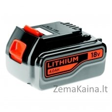 Akumuliatorius 18V 4,0 Ah Li-ion, Black+Decker