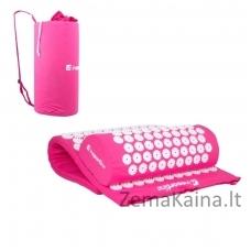 Akupresūros masažuoklis-aplikatorius (pagalvėlė + kilimėlis) inSPORTline Alavea Red