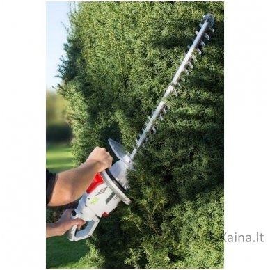 Akumuliatorinės gyvatvorių žirklės 40V Ikra Mogatec IAHS 40-5425 Pilnas komplektas 3