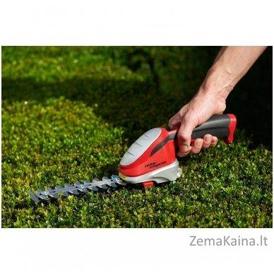 Akumuliatorinės žolės ir gyvatvorių žirklės 7,2 V Ikra Mogatec GBS 9054 Li 2