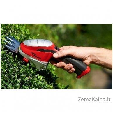 Akumuliatorinės žolės ir gyvatvorių žirklės 7,2 V Ikra Mogatec GBS 9054 Li 4
