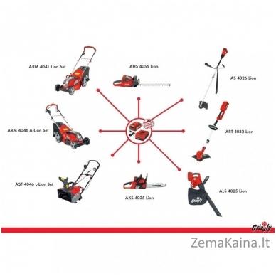 Akumuliatorinis grandininis pjūklas 40V Grizzly AKS 4035 Set 5