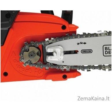 Akumuliatorinis grandininis pjūklas GKC3630L20 36V 2Ah 30 cm, Black+Decker 4