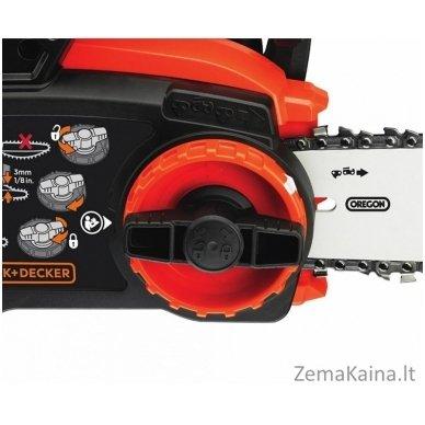 Akumuliatorinis grandininis pjūklas GKC3630L20 36V 2Ah 30 cm, Black+Decker 3