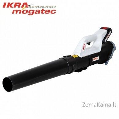 Akumuliatorinis lapų pūstuvas 20V 2Ah Ikra Mogatec ICB 20
