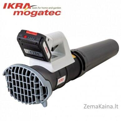 Akumuliatorinis lapų pūstuvas 20V 2Ah Ikra Mogatec ICB 20 2
